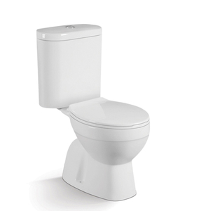 Hot design bathroom two piece toilet with built-in bidet product