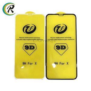 Online Wholesale 9D Mobile tempered glass for iPhone x screen protector for iPhone 10 with retail box