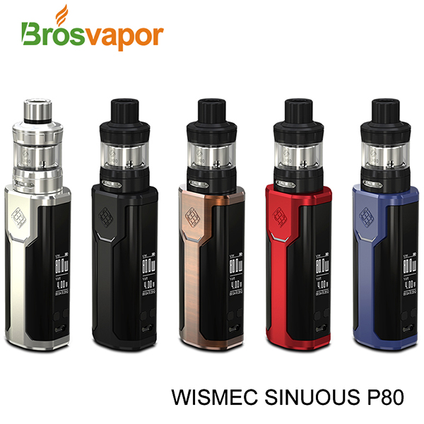 Wismec SINUOUS P80 with ELABO Mini Kit Wholesale