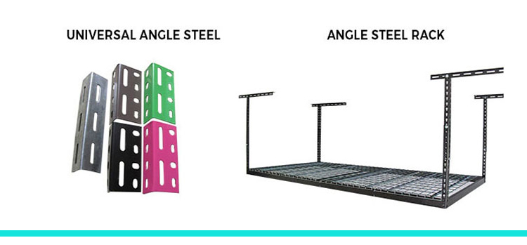 Corner Light Duty Storage Metal Shelf with Diamond Hole or Butterfly Hole for Household Tools