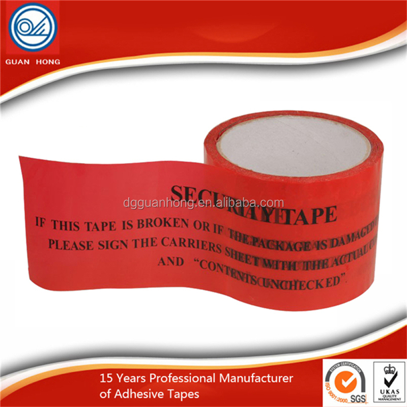 Hot sale full color text printed adhesive bopp box packing tape