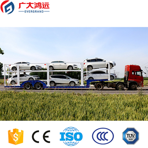 factory new manufacturing long vehicle truck trailer loading 6 small cars for sale