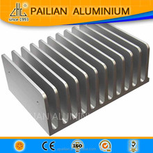 Ukraine import aluminiuim 6063 T5 heatsink ,alloy heatsink extruded tube ,aluminium heatsink extruder