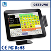 restaurant 12 '' all in one touch screen payment terminal with MSR