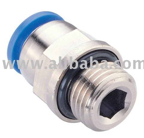 PC (MALE STRAIGHT) Pipe Fittings