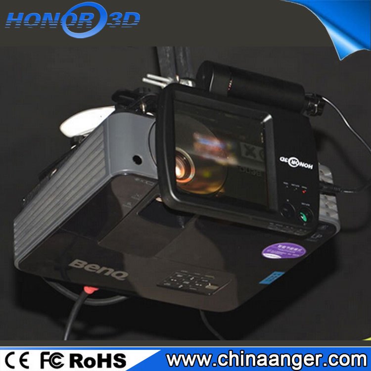 Passive 3D home theater vision system, Mini polarization for DLP VESA projectors
