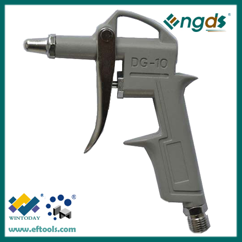 Compressed air blow gun with the zinc alloy nozzle
