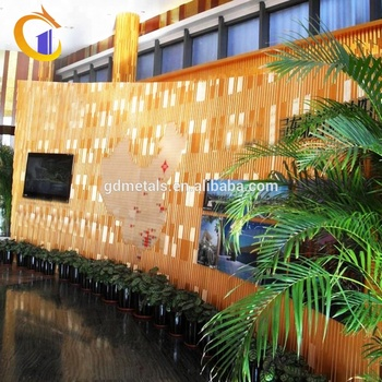 Modern Decoration Stainless Steel Metal Wall Panel
