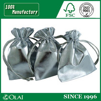 Fashion silver pouch packaging