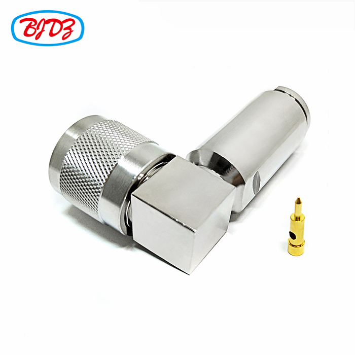 RF cable connector 90 degree right angle male HN connector for cable RG213 RG214 RG58-U