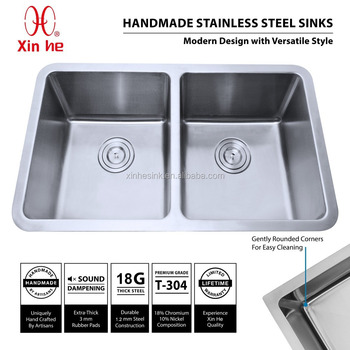 Kitchen Sink Cupc Small Radius Pressed