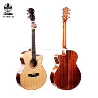2018 hot sale china best quality with good sound Rosewood Fingerboard Material Acoustic Guitar