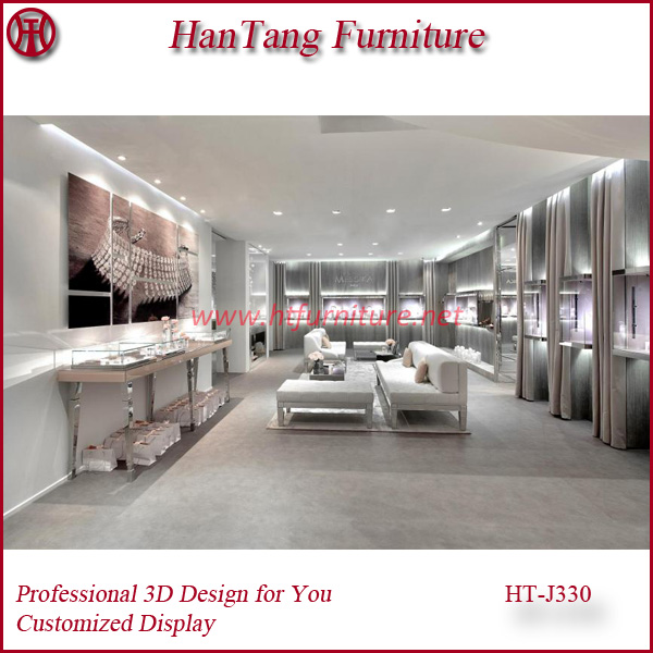 China Jewelry Display Stand Furniture Suppliers
