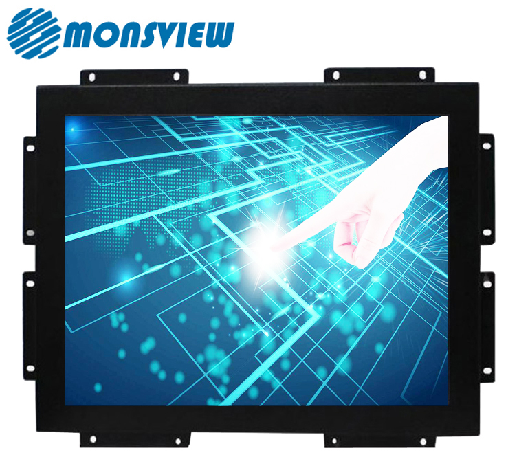 Brightness Sunlight Readable High Resolution 10.4 inch Industrial LCD Monitor
