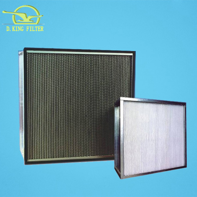 China factory supply nano hepa panel luchtreiniger filter
