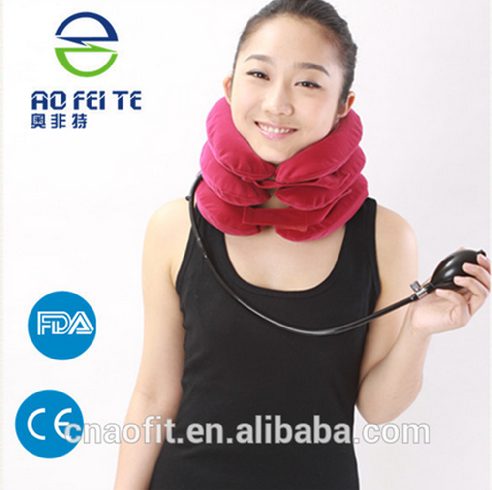 Aofeit 2017 new product on hot sale medical neck massage support device