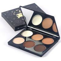 Makeup Face Pressed Powder Concealer Whitening Make Up Highlight Contour Powder Palette Cosmetics