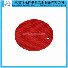 FDA standard silicone placemat plate rund table silicone placemat
