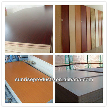 Good Quality Furniture Grade Melamine Laminated Plywood