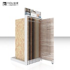 High Quality Stone Display Rack Wood Rack Display Shelf  Marble Sample Display Rack