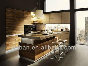 Keuken Kasten Melamine : Aangepaste modulaire moderne mdf melamine keuken kast fabrikant
