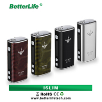 Companies needing distributors 2200 mah rechargeable battery vape mod ISLIM 50W humidity control box