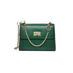 11b026a73be3 Lizard Pattern Fashion Side Bag Leather Shoulder Bag Lady