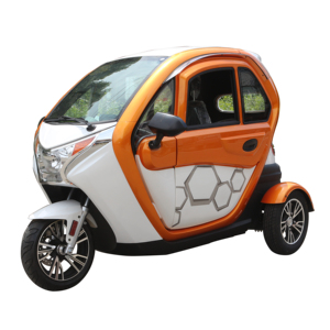 EEC Certificate Cheap Three Wheel Electric Car Three Seats Two Doors Electric Vehicle