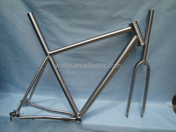 chinese titanium OEM ISP corss road bike frame