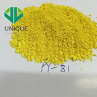CHEMICAL ORGANIC YELLOW 81 COLOR PIGMENT POWDER FOR PLASTIC