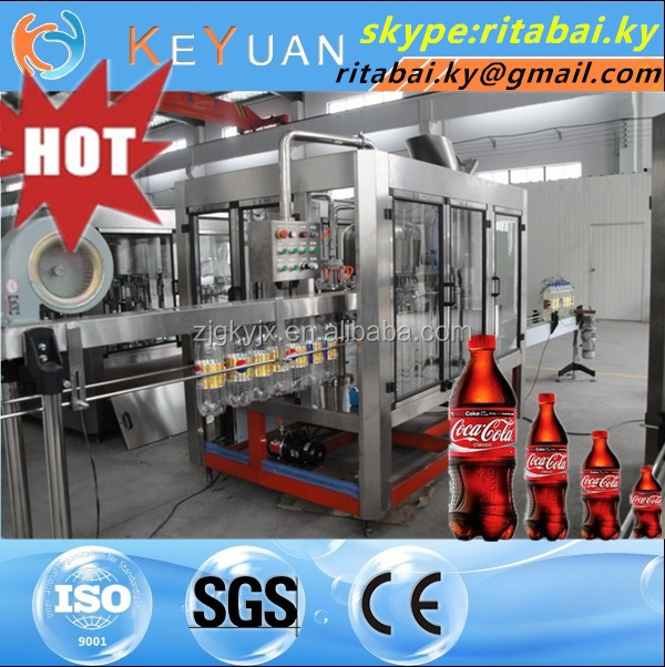 Automatic 3-In-1 Bottled Hot Beverage Filling Machine/Equipment Juice Beverage Filling Machine