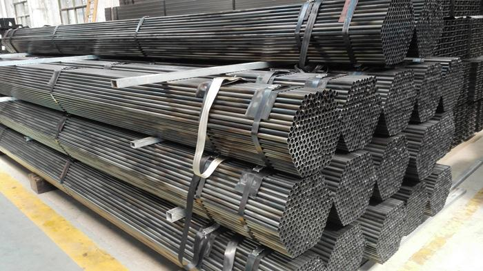 construction companies SS400 HDG Carbon Pipe ERW STEEL LINE PIPE