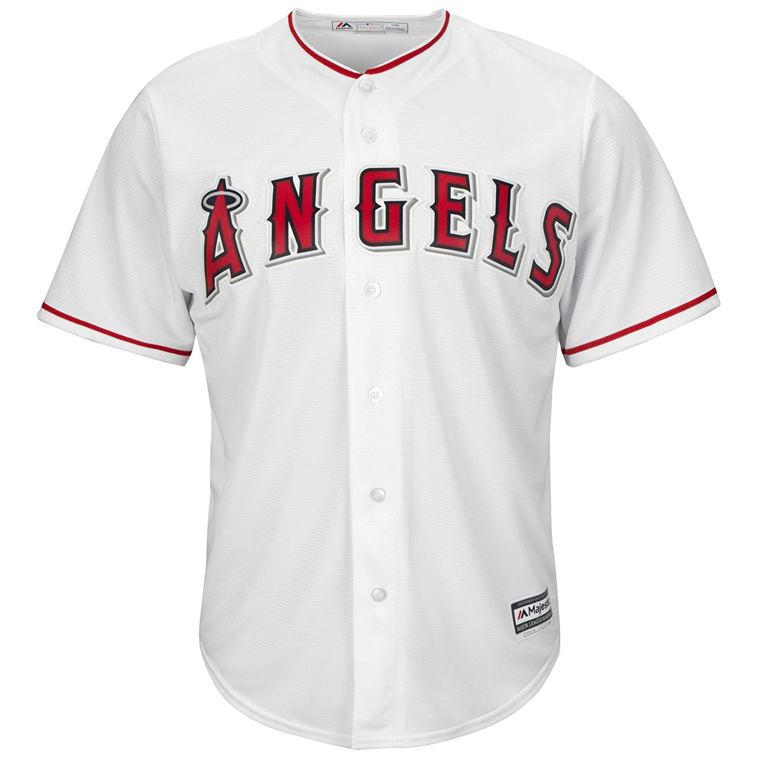 cdee74f95 Get Quotations · Mens MLB Los Angeles Angels of Anaheim Cool Base Jersey