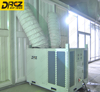 Drez 25Hp / 20 Ton Dehumidifying Cold Air Ductable Ac Units For Outdoor Storage Tents