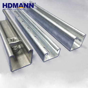 Stainless Steel Unistrut Channel Sgs Tested Manufactures - Buy Stainless  Steel Unistrut Channel,Unistrut Channel Sgs Tested,Unistrut Channel Product
