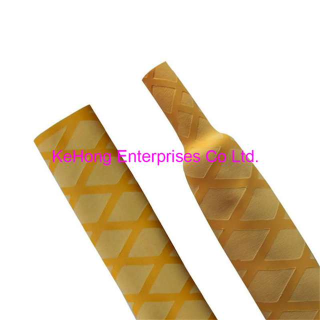 Non slip textured Heat shrinkable tubing