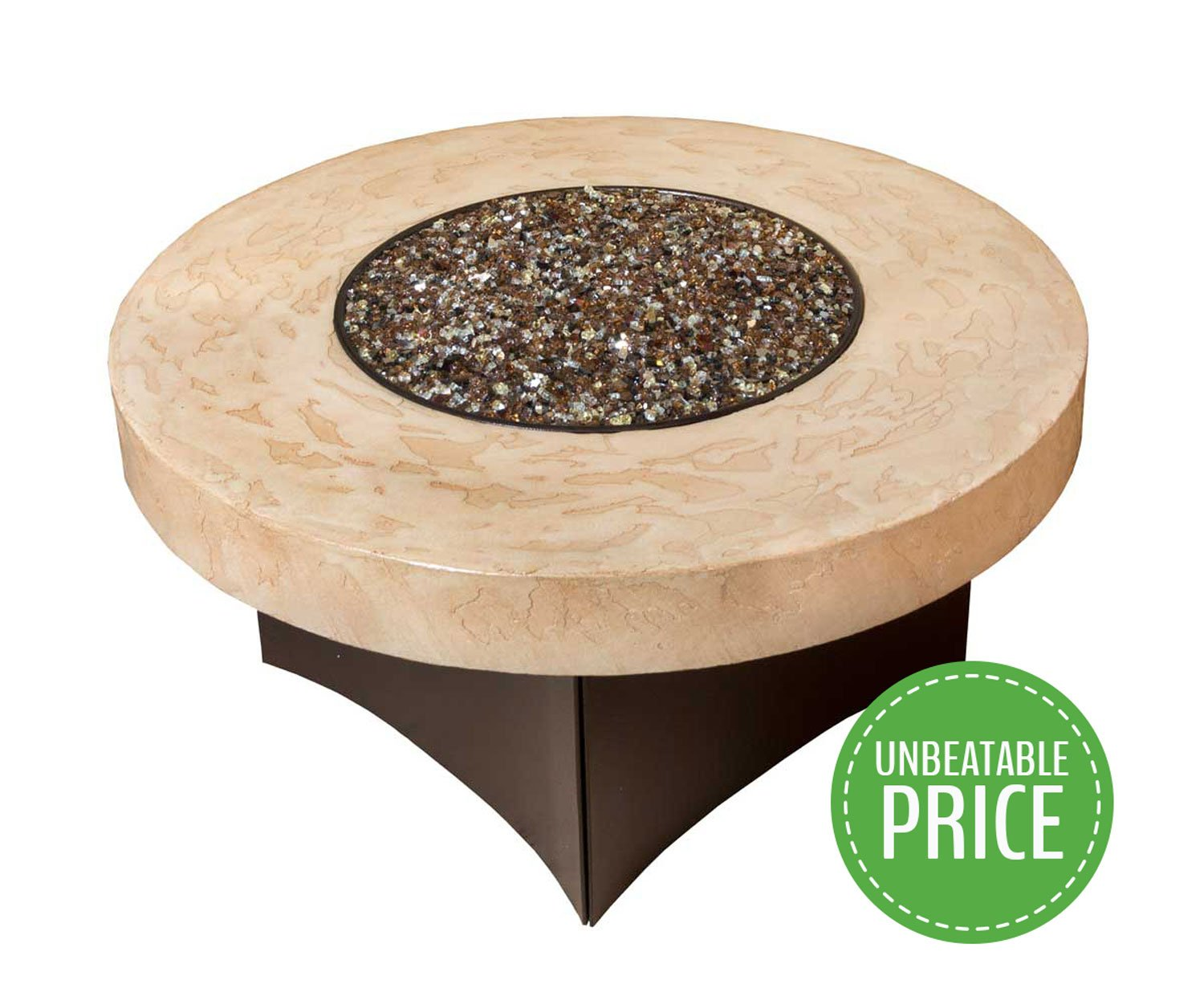Get Quotations · Gas Fire Pit Table Oriflamme Tuscan Fire Table. The Award  Winning Leader In Outdoor Gas