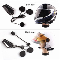 YamBand T9S helmet bluetooth motorcycle intercom support motorcycle intercom 2 to 8 riders with free shipping