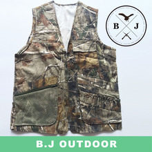 Canvas hunting vests heated hunting vest fishing camouflage vest from BJ Outdoor