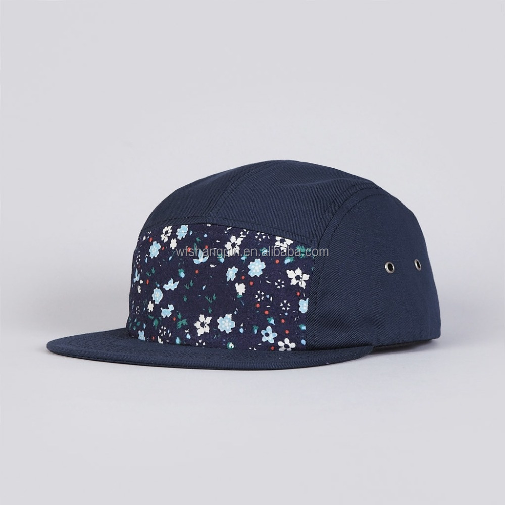 Pattern 5 Panel Baby Hat Snapback Cap daef731528e