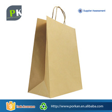 With Twisted Handle Machine Making Bag Disposable Brown Kraft Paper Bag