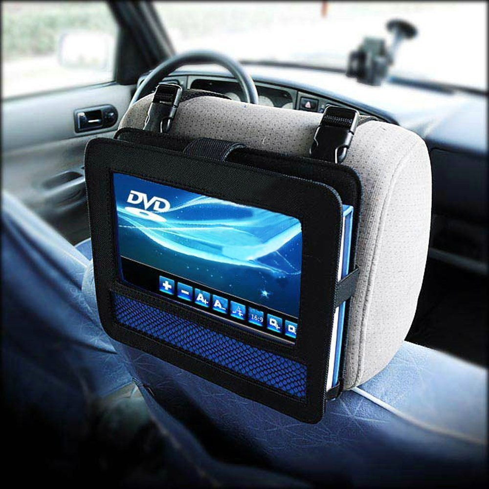 popular portable dvd player car headrest mount buy cheap. Black Bedroom Furniture Sets. Home Design Ideas