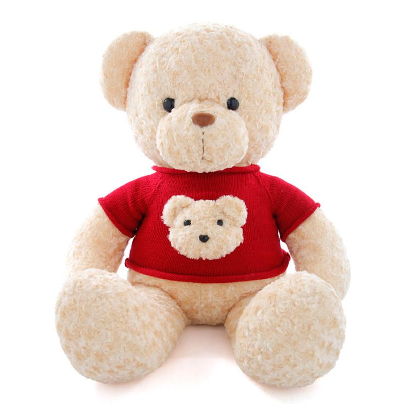 고품질 생일 발렌타인 데이 부드러운 장난감 플러시 테디 베어