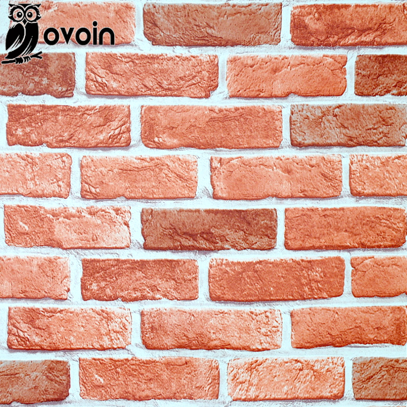 Aliexpress.com : Buy Antique Embossed Textured Red Brick