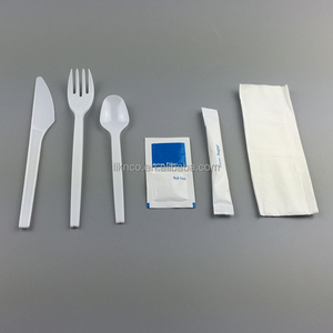 Disposable Plastic Cutlery Set,Ps Airline Fatware Set