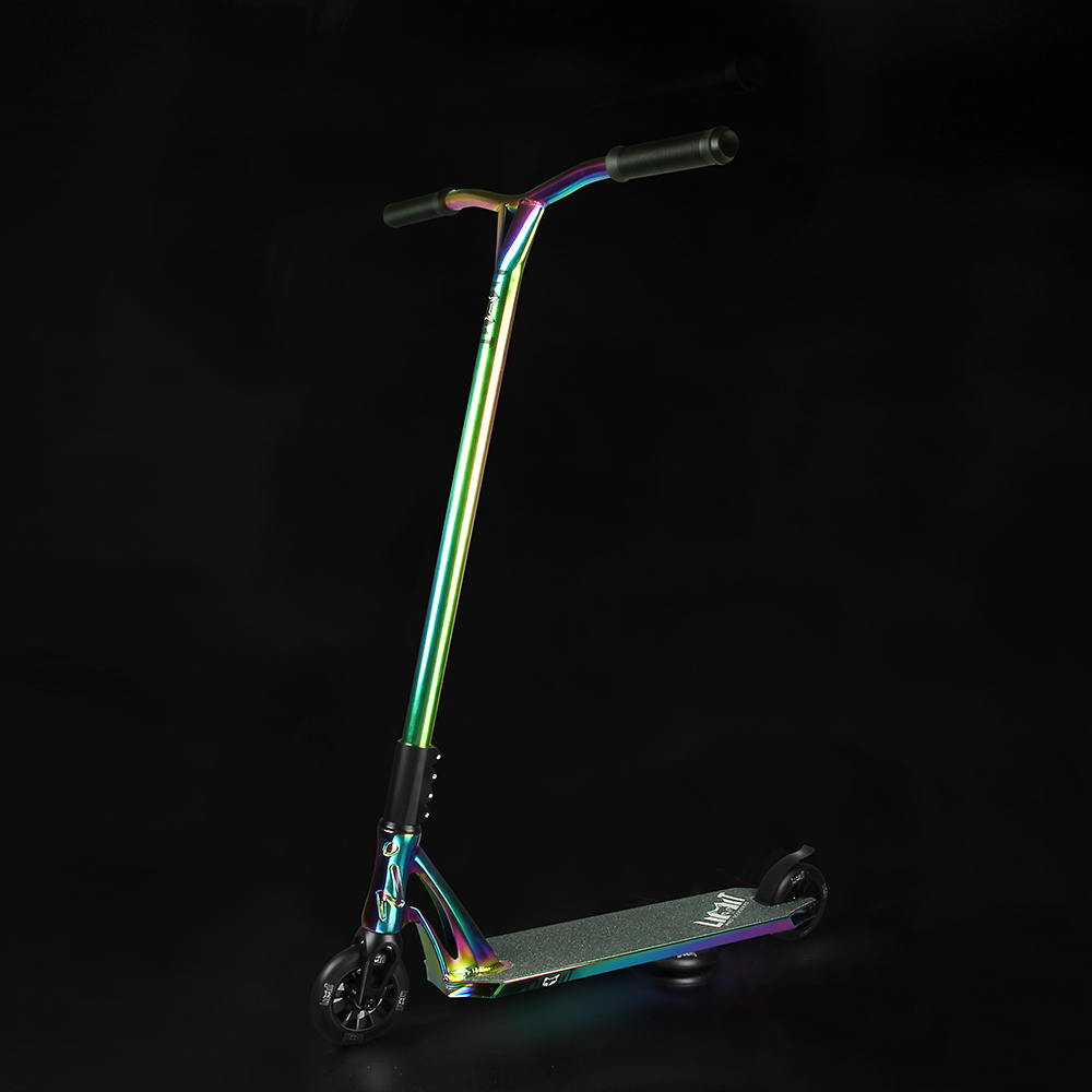 Neo chrome Extreme pro scooter freestyle arcobaleno stunt scooter
