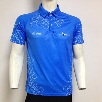 8d54ca1a Sublimated printing custom design mens polo shirt 100% polyester uniform  dry fit polo t-
