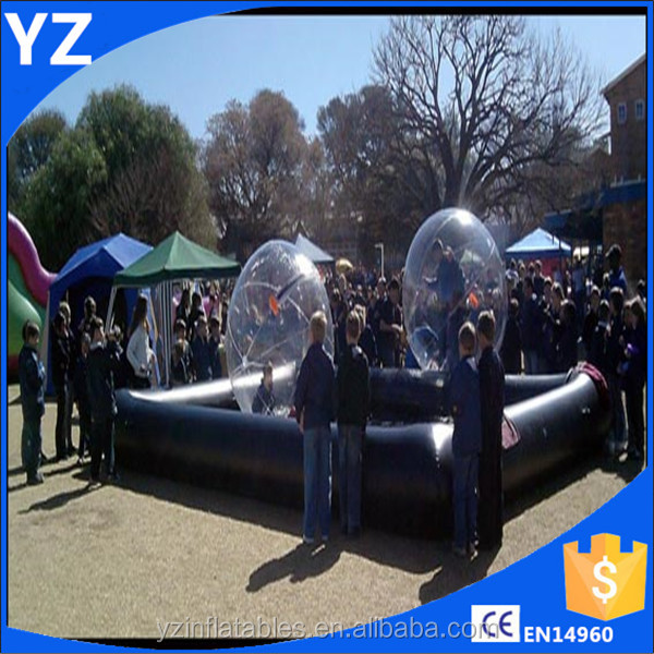 High quality clear water ball, giant bubble ball for show