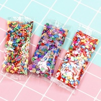 2019 new products fruit polymer clay charms nail art pieces