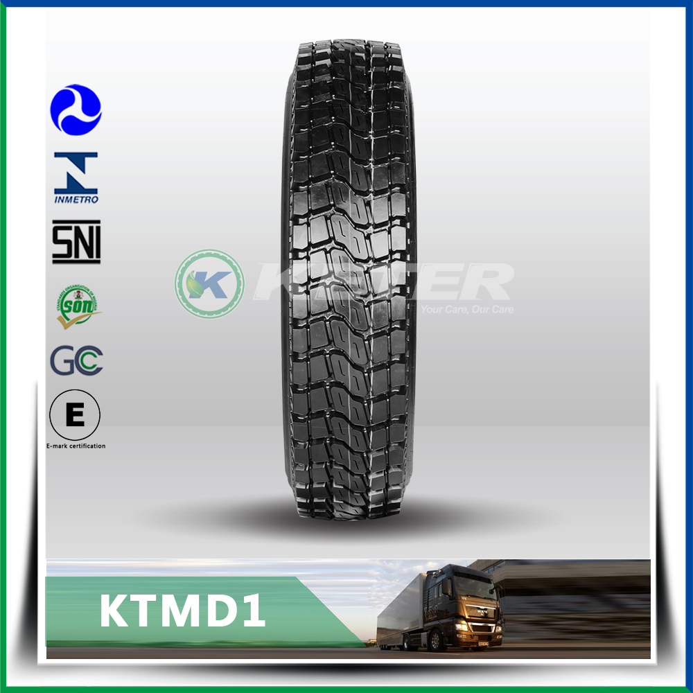 Heavy load capacity tube truck tire10.00r20 for long haul truck